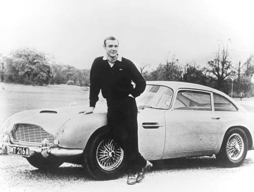 Aston Martin DB5 With Sean Connery