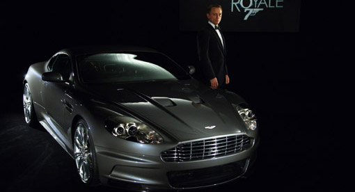 Aston Martin DBS and James Bond, Daniel Craig