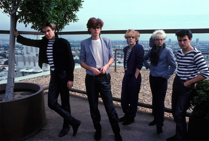 Duran Duran at the Riot House 1977