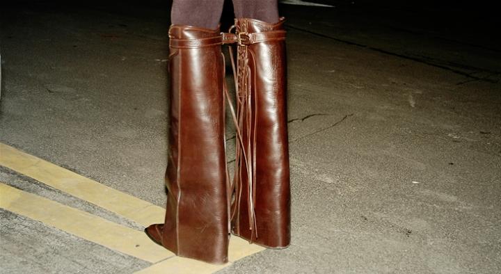 Givency Boots.  Whoa!
