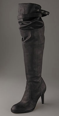 LD Tuttle - Serpent slouch over the knee boot