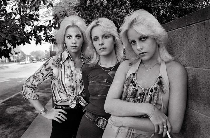 Marie, Vickie & Cherie San Fernando Valley 1976