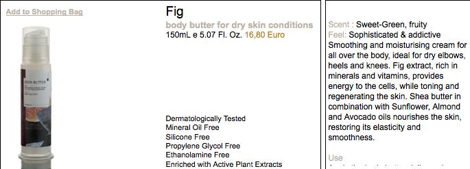 Fig smells unreal!