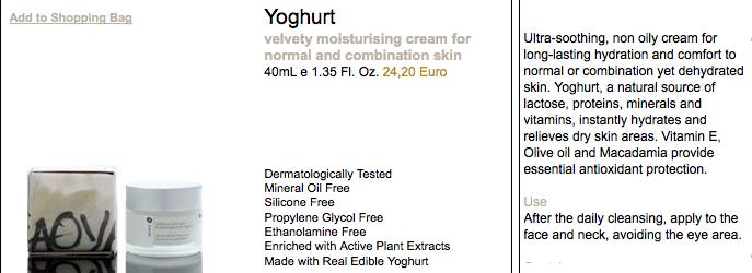Yoghurt Products, amazing!