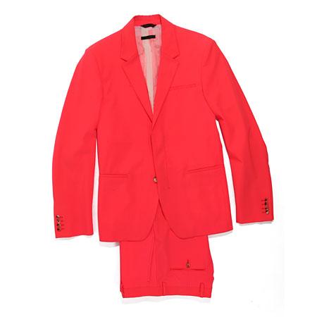 Whooaaaaa!! Hhaa, Calvin Klein fluorescent suit