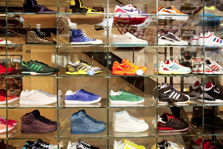 Sneaks at Colette