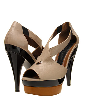 Marni Platform Sandal with X Front