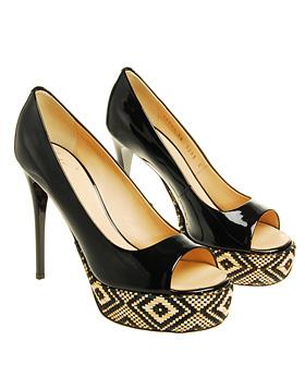 Giuseppe Zanotti Design Patent Show Shoe with Platform