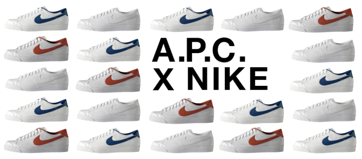 A.P.C x Nike