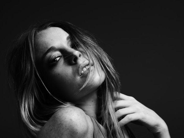 Lindsay Lohan shot by Hedi Slimane