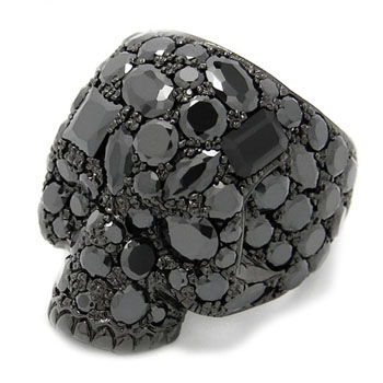 Stardust Skull Ring