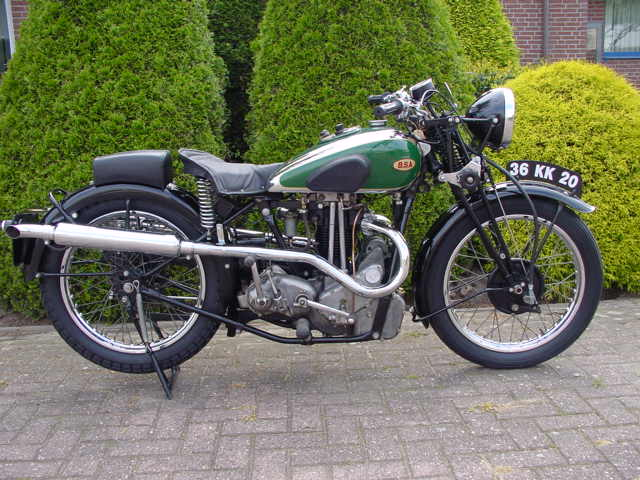 BSA 1935 Blue Star.
