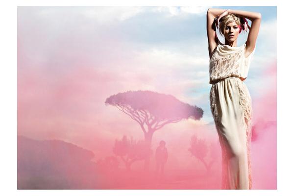 Fendi 2010 Campaign.