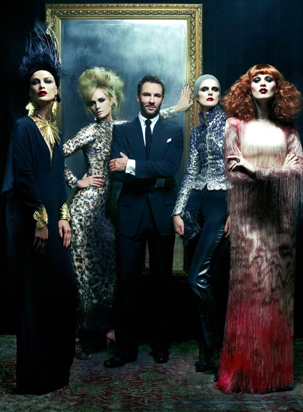Tom Ford by Steven Meisel.