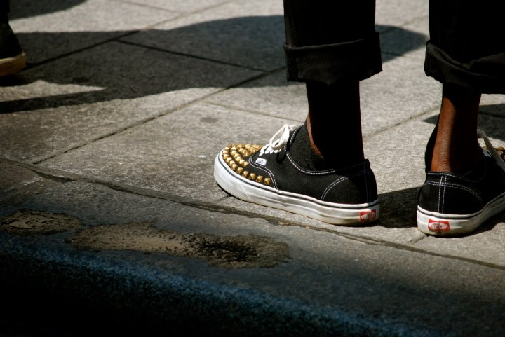 Studded Vans, SnappyLifeStyle.