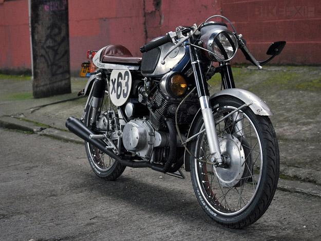 Honda CB160.