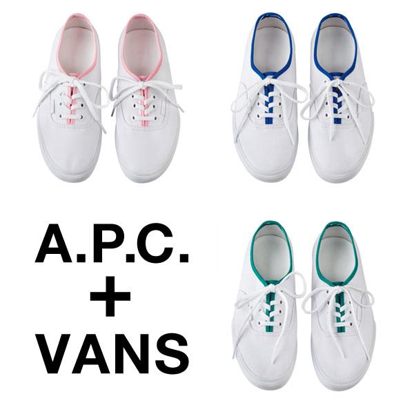 A.P.C. + VANS.