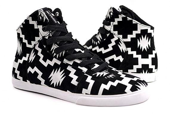Supra Cutler Navajo Sneakers.