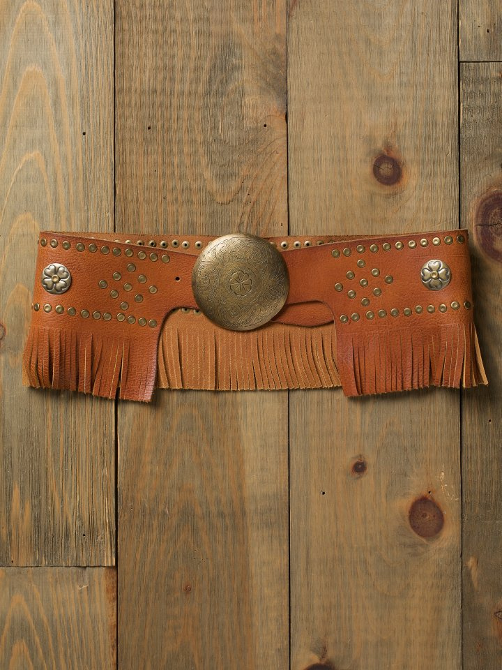 Skirted Fringe Belt.