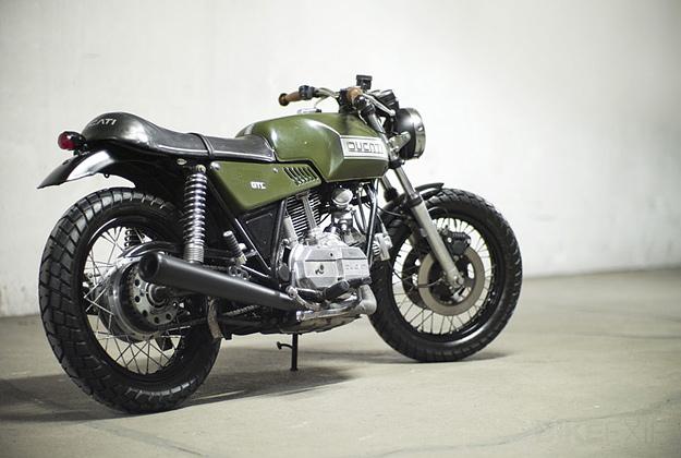 Custom Ducati 860 GTS.