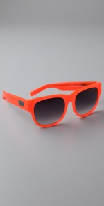 Matthew Williamson - Curved Square Sunglasses.