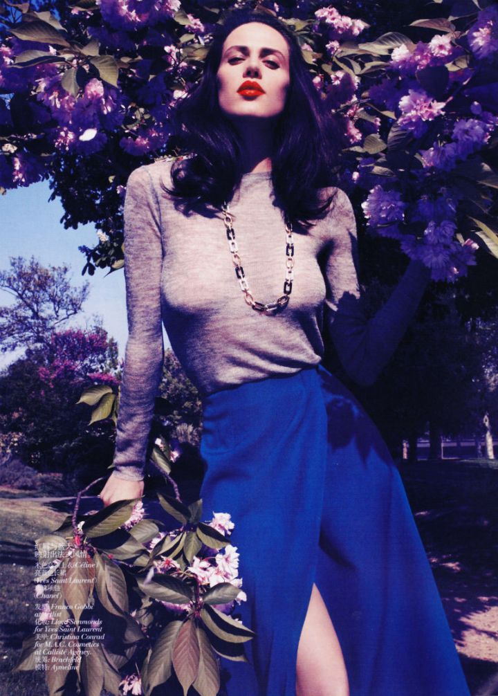 Vogue, China.