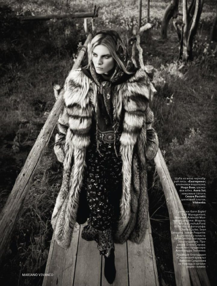 Vogue, Russia.