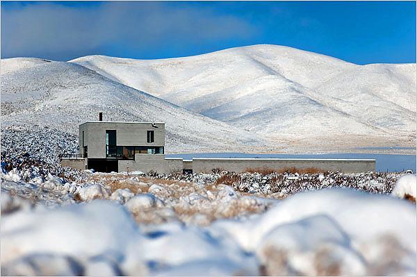 Idaho Desert House.