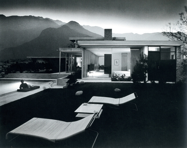 Kaufmann Desert House, Richard Neutra, Palm Springs, CA 1946-47.