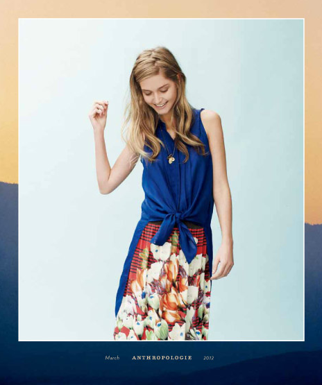 Anthropologie March 2012 Catalog