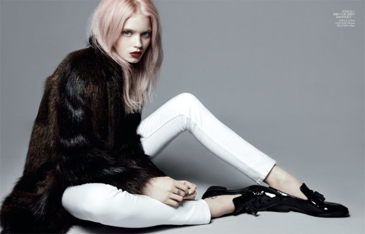 Abbey Lee Kershaw for Vogue China July 2012.